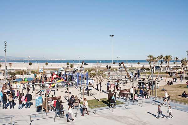 parque marina real - comida navidad valencia